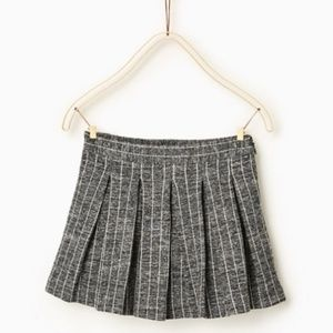 Zara Girls Pleated Schoolgirl Skirt